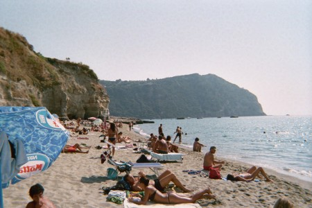 Cava di Isolla, a beach on Ischia